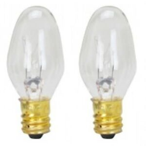 (2) Dryer Light Bulb 120V 10W Replaces Kenmore 3406124 and 22002263