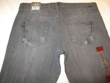 Paper Denim Cloth Jeans Sienna Low Rise Straight Gray Sz 30 from Barneys NY NEW