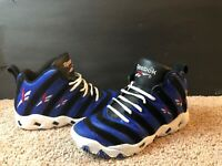"Retro-vintage-Reebok ""Big Hurt"" Royal Ultra Rare-RARE -Size 9-Limited Production"
