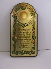 Serenity wall plaque