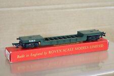 Triang R118 Br Vert Bogie Bien Wagon 41917 Ouvert Accouplements 1957 Version MIB