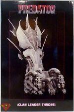 "CLAN LEADER BONE THRONE Predator 7"" Scale 14"" Resin Plastic Diorama Neca 2018"