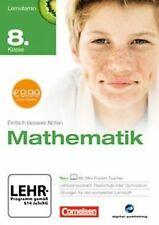 Lernvitamin - Mathematik 8. Klasse (für Realschule u...   Software   Zustand gut