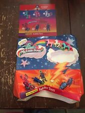 1998 McDonalds My Little Pony and Transformers Toys Happy Meal Display