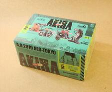miniQ AKIRA PART.2 TETSUO Figure Collection BOX 6 Set Kaiyodo Japan P1569