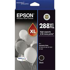 GENUINE Epson 288XL Black Ink Cartridge XP-240 XP-340 XP-344 XP-440 T306192