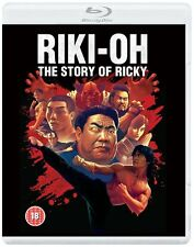 Riki-Oh: The Story Of Ricky - [Dual Format Edition - DVD & Blu ray] NEW & SEALED