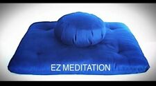 FREE SHIPPING XL 2pc-set Pellet Bead Zafu/Zabuton Yoga Meditation Cushions Mat