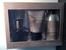 Hollister Coastline Gift Set 3 Pieces Cologne, Body Spray And Body Wash NIB