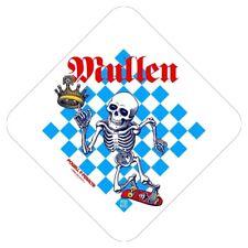 Powell Peralta Rodney Mullen Crown Skateboard Sticker 4.5in si