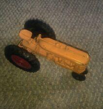 Vintage Metal Farm Toy Tractor Yellow 1960's? Ertl?