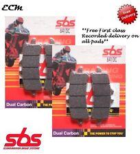 Aprilia RSV4-R 1000 ABS Front Brake Pads SBS Dual Carbon 841DC 2010 - 2014