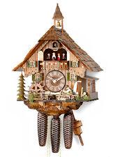 ORIGINAL Hekas Horloge de coucou Forêt Noire Maison la NEUF / OVP black-forest
