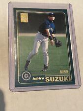 2001 Topps Ichiro Suzuki Rookie Card 726 Mariners