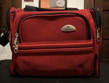 Samsonite Red Luggage Carry On Bag