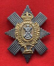 British Army. Black Watch Genuine Officer's WW2 Cap Badge