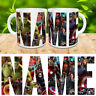 Marvel Personalized Logo Mug. Your Name, Spiderman, hulk, avengers, Xmen GIFT