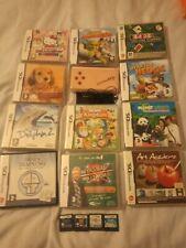 Nintendo DS Limitada Rosa Lite + Auriculares + 15 Juegos Bundke girks Como Nuevo + Manual