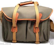 BILLINGHAM 445 SHOULDER BAG (Sage with Tan Leather Trim) USED