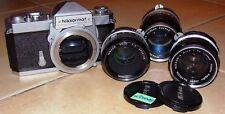 - Nikon Nikkormat analogica reflex; 135mm; 35mm; 50mm (l00018)
