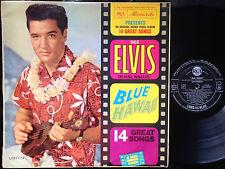 ELVIS PRESLEY - BLUE HAWAII Ultrarare 1961 Australian MONO LP Release!