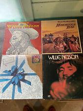 Willie Nelson Vinyl Lp Lot