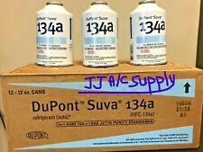 R134A DuPont Suva Refrigerant  6 Cans  ( 12oz. Cans)*** MADE IN USA***