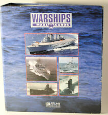 Warships Maxi Cards, Binder folder With Cards Atlas Edition collectable