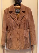 Women's Pacific Trail Brown  With Fringe Size Small