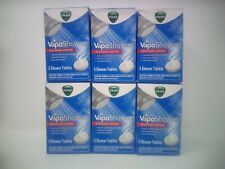 6 Pack Vicks Vaposhower Tablets W/ Soothing Vapors 5ct Tablets Each