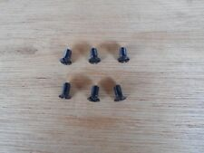 6X NEW THROAT PLATE SCREWS FOR INDUSTRIAL STRAIGHT SEWERS