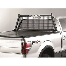 BACKRACK 10500 Safety Rack Frame Only, Stake Holes Mounting Style -Steel Black