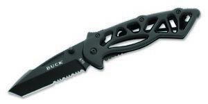 Buck Knives 870 Bones-Black-Large Folding Knife 870BKX