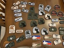 Morale VELCRO Hook Fastener Patches. Lot Of 75pcs. All New