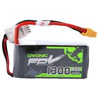1300mAh 11.1V 3S 80C Lipo Battery XT60 Plug For Remote Control Drone FPV RC Car
