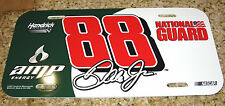 DALE EARNHARDT JR #88 AMP ENERGY NATIONAL GUARD NASCAR LICENSE PLATE