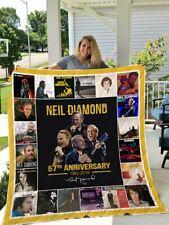 Neil Diamond Quilt Blanket