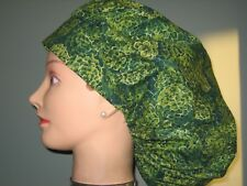 Surgical Scrub Hats/Caps Green Pine Cones
