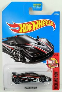 McLaren F1 GTR > Black > Hot Wheels > 2017 > New