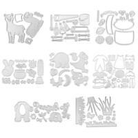Metal Cutting Dies Stencils Scrapbook Embossing DIY Craft Album Paper Card Gift
