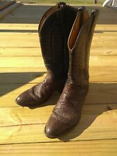 Tony Lama Western Cowboy Boots BOYS Size 4