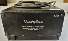 Soundcraftsmen Pm860 600W Power Amplifier w/ Rack Mount Kit & 1/4 to Rca cables