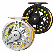 Fly Reel and Line Combo 1/2 3/4 5/6 7/8 WT Large Arbor Fly Fishing Reel