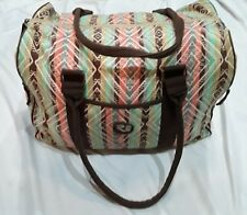 RARE EARTH BY STONE MOUNTAIN COLORFUL OVERNIGHT TRAVEL DUFFLE BAG