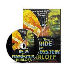 The Bride of Frankenstein (1935) Boris Karloff Horror Movie / Film on DVD