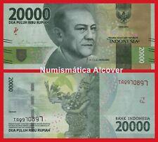 INDONESIA 20000 Rupiah rupias 2016 (2017) Pick NEW   SC /  UNC