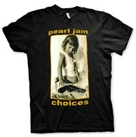 OFFICIAL LICENSED - PEARL JAM - CHOICES T SHIRT ROCK GRUNGE METAL VEDDER