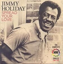 Spread Your Love The Complete Minit Singles 1966-1970 Jimmy Holiday Audio CD