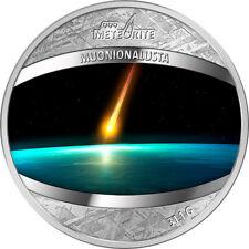 Niue 2016 1$ Muonionalusta Meteorite 1 oz Proof Pure Meteorite Coin