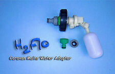Mains Water Adaptor Valve to fit Caravan Aquaroll, Aqua Caddy, Roly Poly etc
